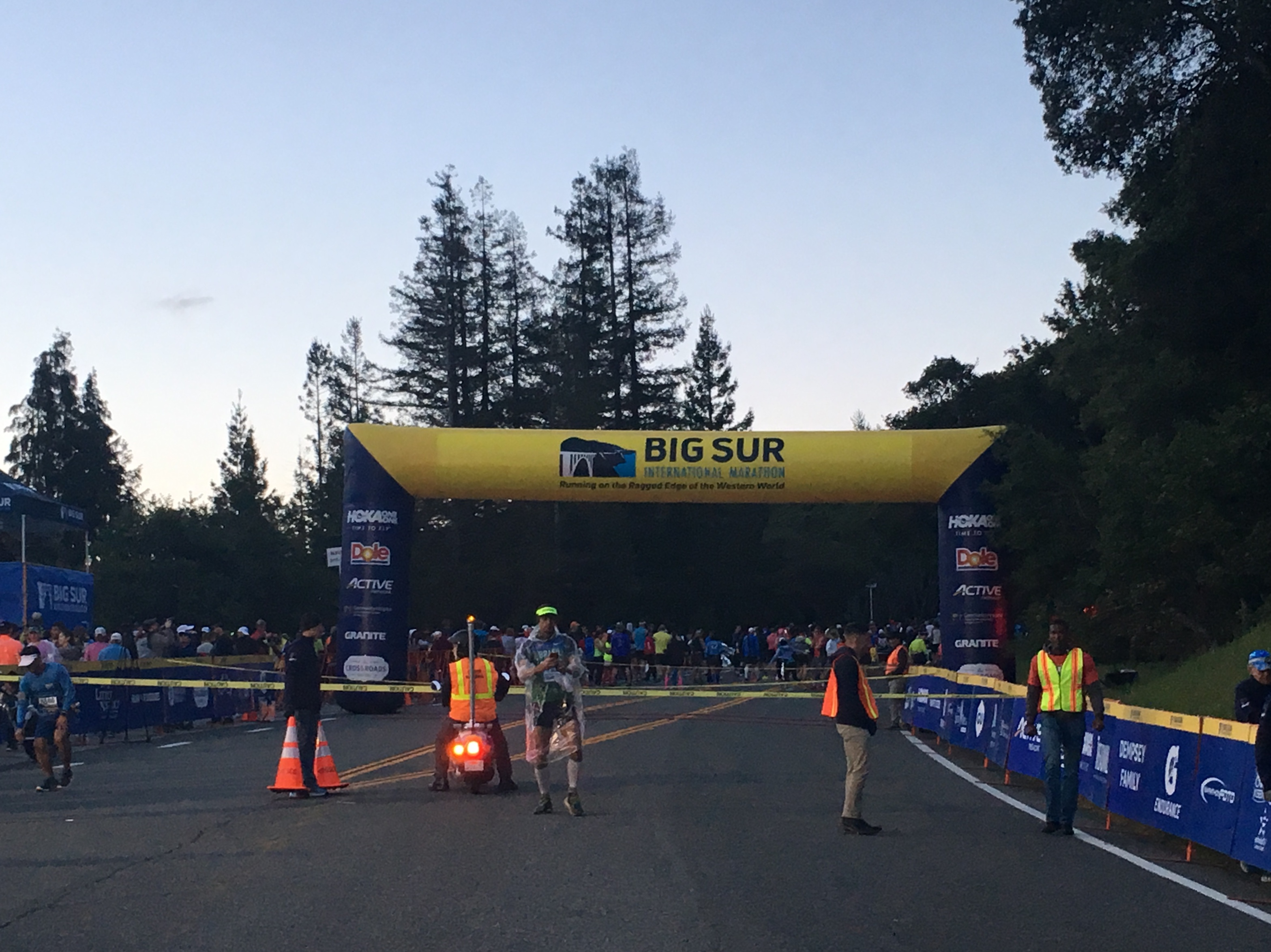 Big Sur Marathon Start